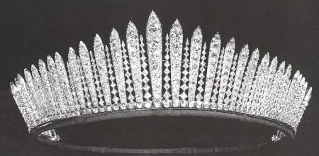The royal wedding for Tiara di diamanti