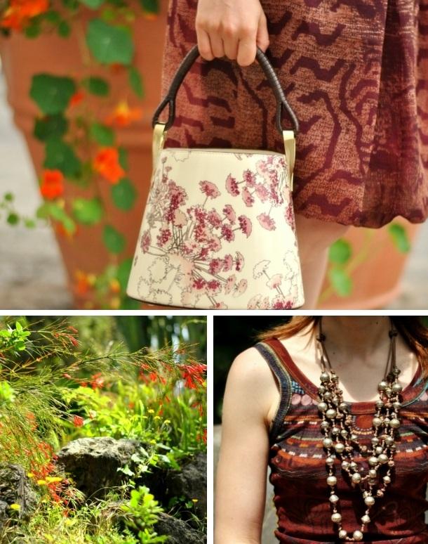 spring outfit. Kenzo pagodon bag