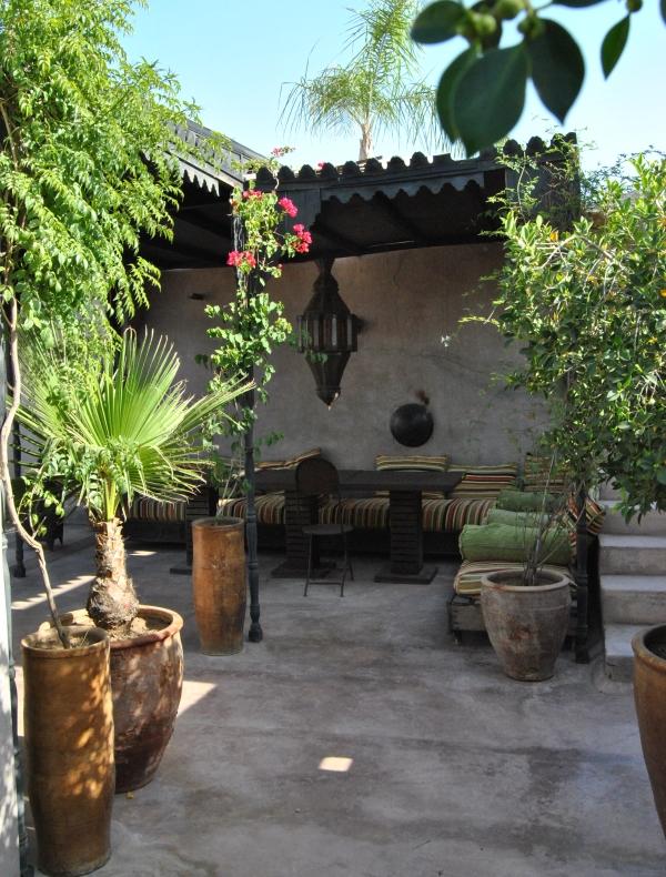 Sud del marocco i riad le kasbah e le maison d 39 hotes for Terrazze arredate
