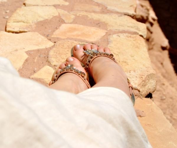 Geox jewel sandals