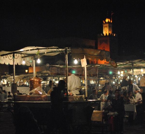 Marrakech night market