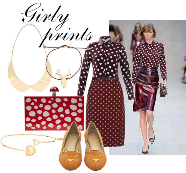girly prints