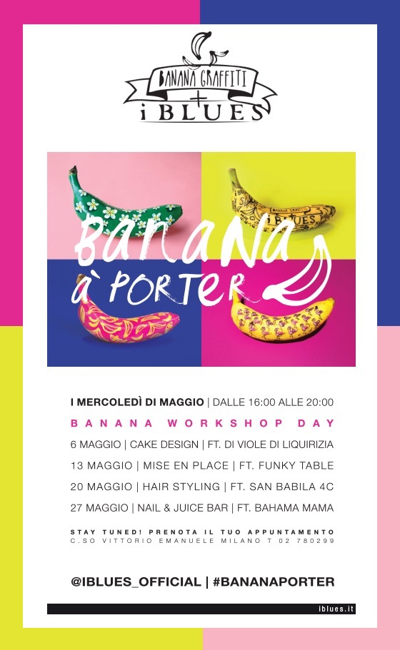 banana à porter workshop maggio