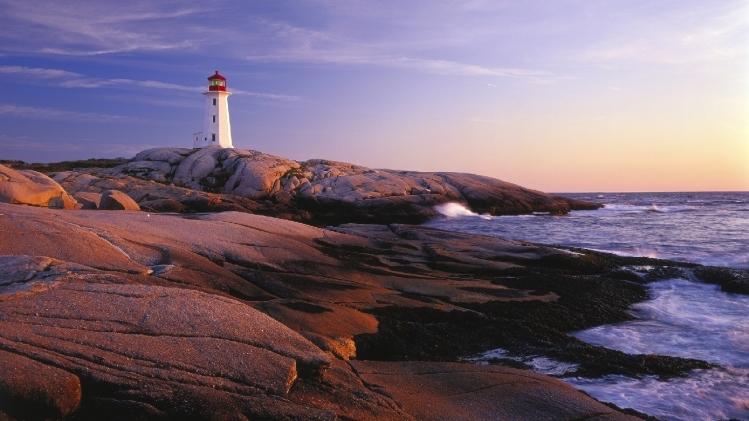 Canada, Nova Scotia, Lighthouse Route, Lighthouse Peggys Cove